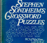 Stephen Sondheim Crossword Puzzles